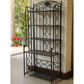 International Caravan Mandalay Iron 5-tier Baker's Rack|https://ak1.ostkcdn.com/images/products/5085688/P12942292.jpg?_ostk_perf_=percv&impolicy=medium