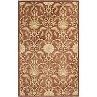 Nourison Hand Tufted Beaufort Rust Wool Rug - 5'6 x 7'4