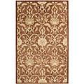 Nourison Hand Tufted Beaufort Rust Wool Rug (5'6 x 7'4) - 5'6 x 7'4