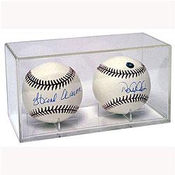 Acrylic Double Baseball Case (Case of 36)
