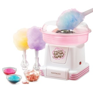 As Seen On TV Nostalgia Electrics Hard Candy/ Sugar-free Cotton Candy Maker