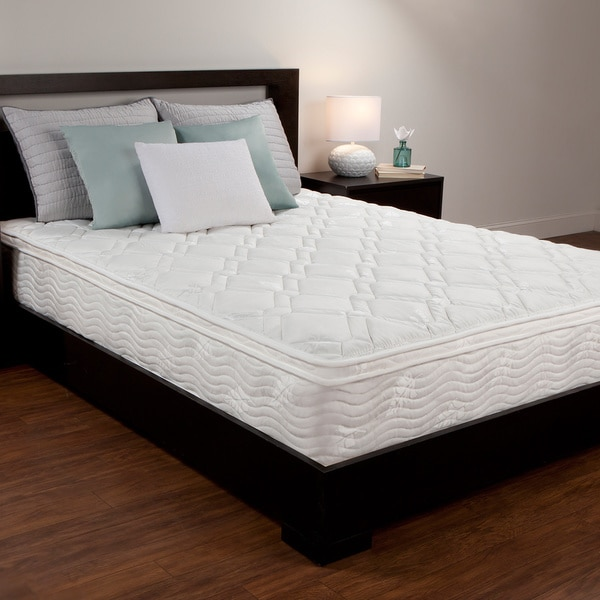 Shop Comfort Memories 10 inch Full size Mattress   Free Shipping