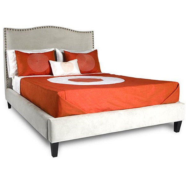 Jar Designs 'The Betty' Grey King Bed