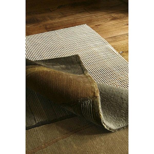 Cushioned Non-slip Rug Pad - White. Opens flyout.