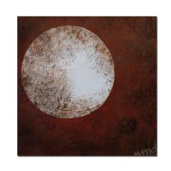 Nicole Dietz 'Moon' Gallery-wrapped Canvas Art - Thumbnail 1