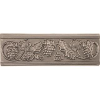 Grapevine Pewter Accent Tiles (Set of 4)