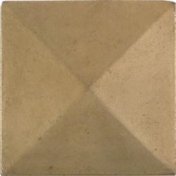 Pyramid Antique Brass 2-inch Accent Tiles (Set of 4)
