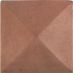 Pyramid Red Copper 2-inch Accent Tiles (Set of 4)
