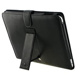INSTEN Leather Tablet Case Cover with Kick Stand for Apple iPad - Thumbnail 1
