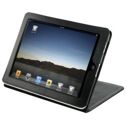 INSTEN Leather Tablet Case Cover with Kick Stand for Apple iPad