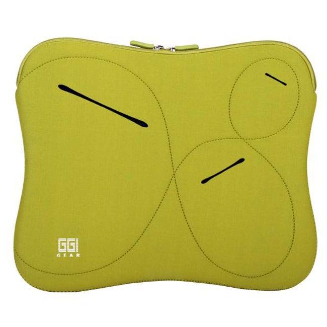 GGI Gear Green Neoprene 11 inch Netbook Sleeve