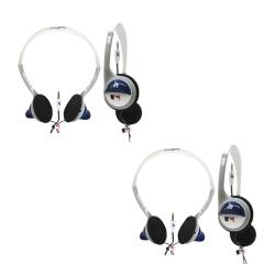 Nemo Digital MLB Los Angeles Dodgers Overhead Headphones (Case of 2)