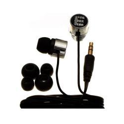 Nemo Digital Black Crystal 'E' Earbud Headphones
