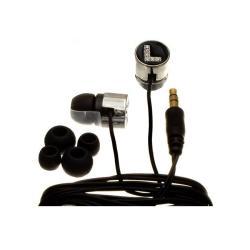 Nemo Digital Black Crystal 'L' Earbud Headphones