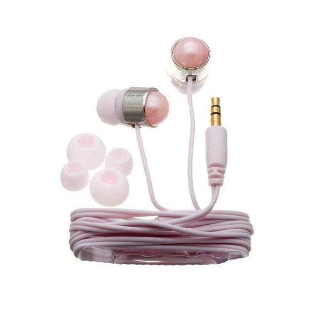 Nemo Digital NF35431 Pink Pearl Stud Earbud Headphones
