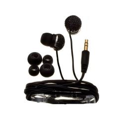 Nemo Digital Black Crystal Pave Ball Earbud Headphones