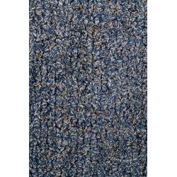 Hand-woven Blue Shag Wool Rug (8' x 10') - Thumbnail 1