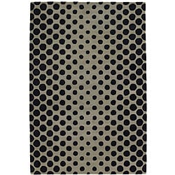 Artist's Loom Hand-tufted Contemporary Geometric Wool Rug (7'9x10'6) - 7'9 x 10'6 - Thumbnail 0
