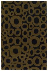 Artist's Loom Hand-tufted Contemporary Geometric Wool Rug (9'x13') - Thumbnail 2