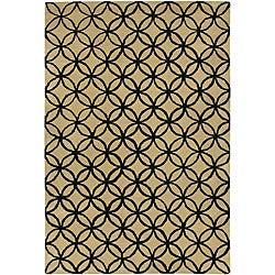 Artist's Loom Hand-tufted Contemporary Geometric Wool Rug - 7'9x10'6 - Thumbnail 0