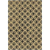 Artist's Loom Hand-tufted Contemporary Geometric Wool Rug - 7'9x10'6