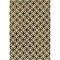 Artist's Loom Hand-tufted Contemporary Geometric Wool Rug - 7'9x10'6