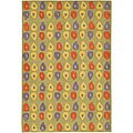 Artist's Loom Hand-tufted Contemporary Abstract Wool Rug - 5' x 7'6