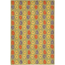 Artist's Loom Hand-tufted Contemporary Abstract Wool Rug (7'9x10'6) - 7'9 x 10'6 - Thumbnail 0