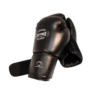 16-ounce Adult-size Black Padded PVC Boxing Gloves for Sparring|https://ak1.ostkcdn.com/images/products/5088236/5088236/16-ounce-Adult-size-Black-Padded-PVC-Boxing-Gloves-for-Sparring-P12944330.jpg?impolicy=medium