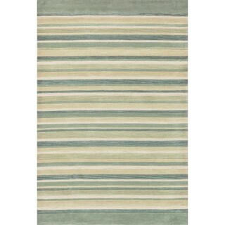 Hand-tufted Ackworth Ivory/ Multi Abstract Rug (7'10 x 11')
