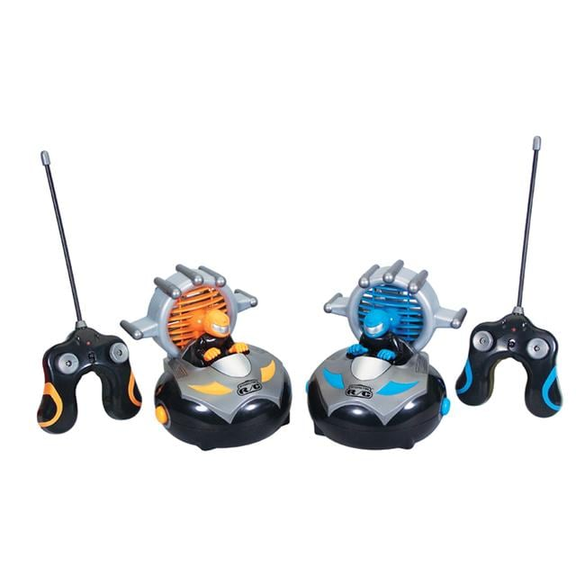 Kid Galaxy Interactive RC Bumper Cars (Set of 2) - Thumbnail 0