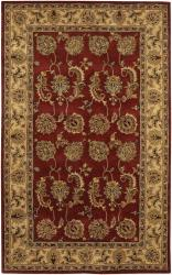 Artist's Loom Hand-tufted Traditional Oriental Wool Rug (7'9x10'6) - Thumbnail 2