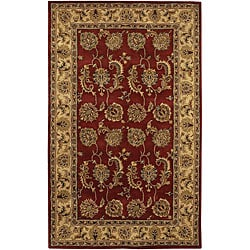 Artist's Loom Hand-tufted Traditional Oriental Wool Rug (7'9x10'6) - 7'9 x 10'6 - Thumbnail 0