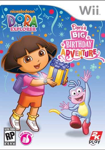 Wii - Dora the Explorer: Dora's Big Birthday Adventure - By 2k Play