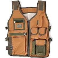 Rugged 7-pocket Nylon Camping Vest