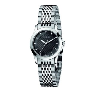 Gucci Women's 'Classic G Timeless' Stainless Steel Watch