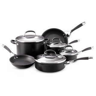Circulon Elite Hard Anodized 10-piece Cookware Set