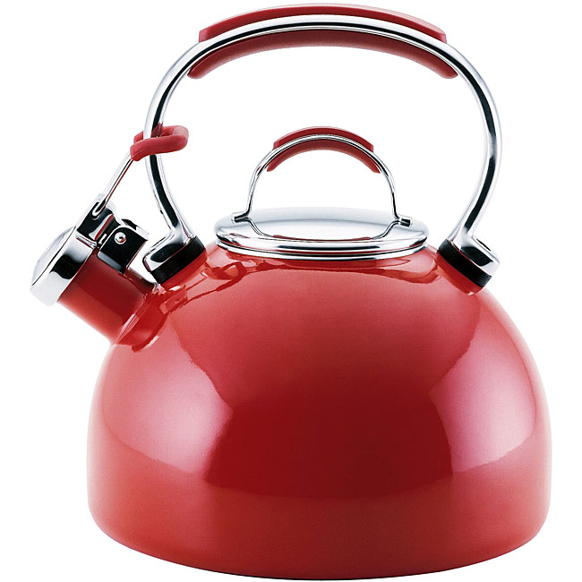 Kitchenaid Tea Kettle ~ Kitchenaid empire red quart tea kettle free shipping