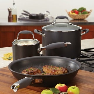 Anolon Advanced Hard-anodized Nonstick 10-inch Grey French Skillet