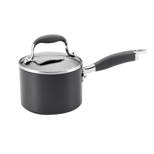 Anolon Advanced 1 5 Quart Covered Saucepan Free Shipping
