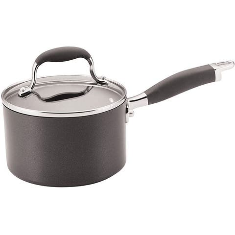 Anolon Advanced Hard-anodized Nonstick 2-quart Grey Covered Saucepan