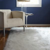 Jungle Sheep Skin White Rug - 2' x 3'