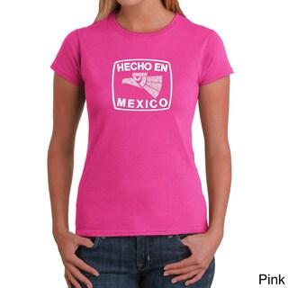 Los Angeles Pop Art Women's Hecho en Mexico Crewneck Tee