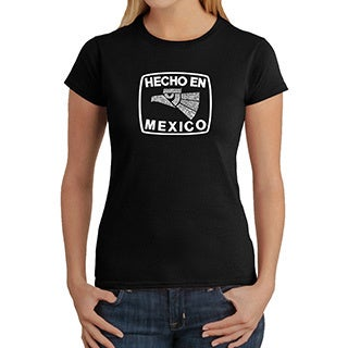Los Angeles Pop Art Women's Hecho en Mexico Crewneck Tee
