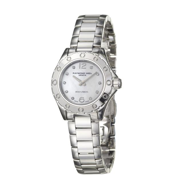 Raymond Weil Women's 'RW Spirit' Stainless Steel Diamond Watch