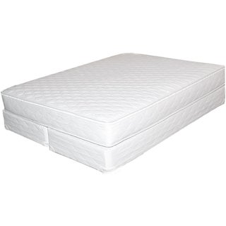 Bali Softside Semi-waveless Queen-size Water Mattress System - White