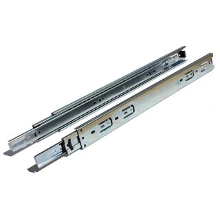 Full Extension 20-inch 100-lb Ball Bearing Drawer Slides (1 pair)