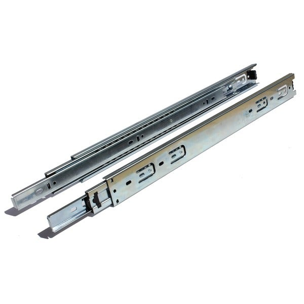 Full Extension 28-inch 100-lb Ball Bearing Drawer Slides (1 pair)