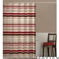 Maytex Meridian Stripe Shower Curtain