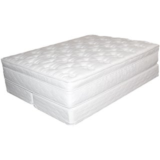 Bali Softside Semi waveless Queen size Water Mattress System White